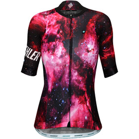 Biehler Pro Team Bike Jersey Women kosmonaut